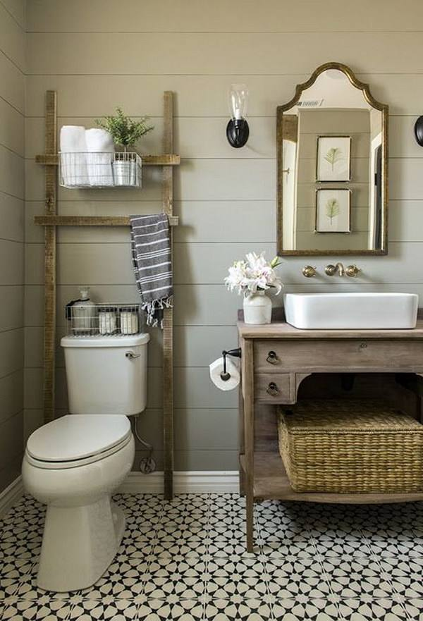 glass shelf over toilet bathroom ladder shelves for paper storage ideas