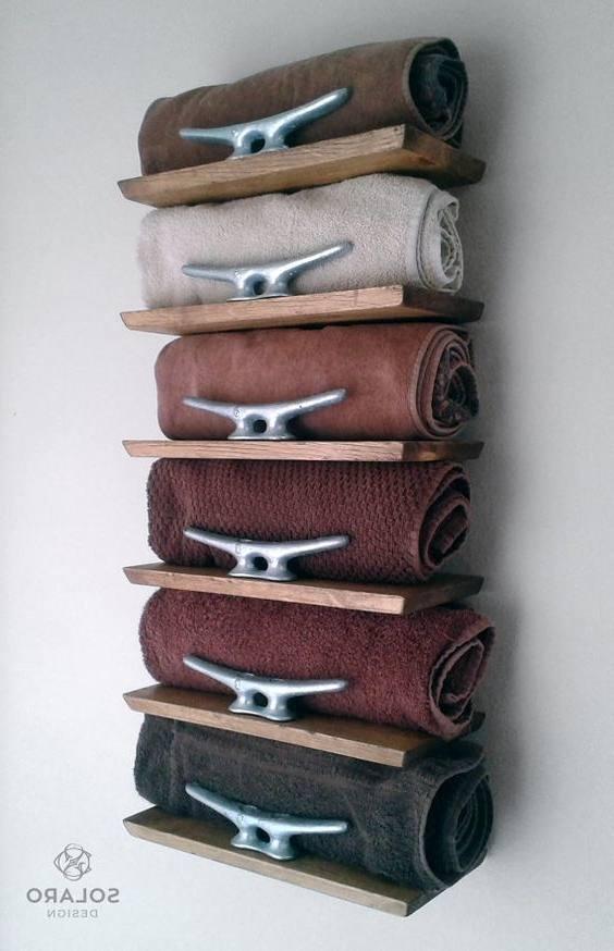 bathroom towels decor