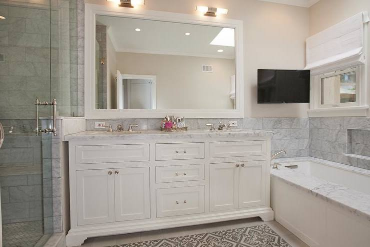 [Bathroom Design] Classic Bathroom Small Panelling