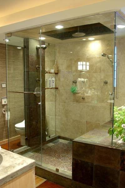 earth tone bathroom tile ideas