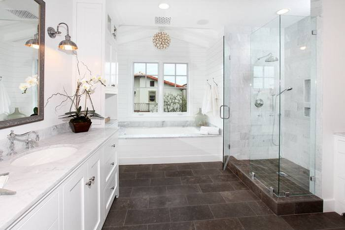 Transform your bathroom or powder room into a clean, relaxing, and bright space with these decorating tips
