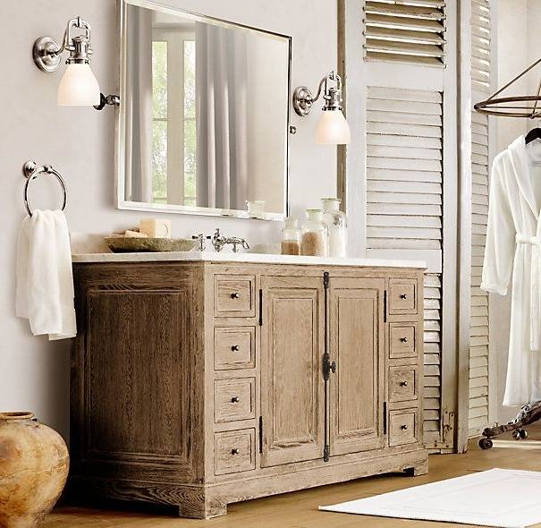 Restoration Hardware Bathroom Vanity Bath Collections Rh inside Stylish restoration hardware bathroom design ideas pertaining to