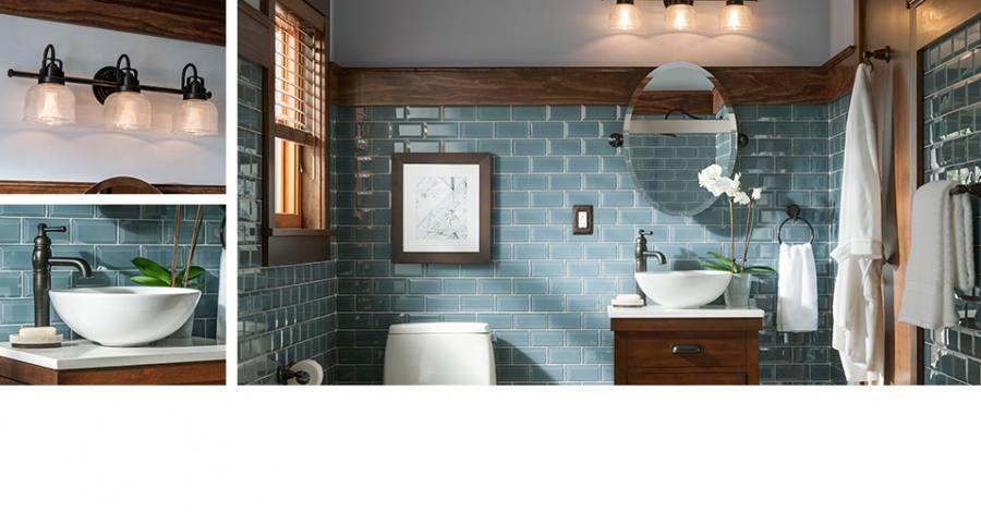 Shop for bathroom vanities at Lowe's