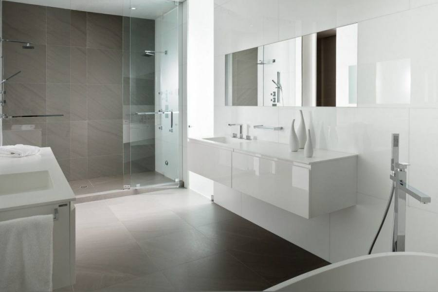 grey and white bathroom ideas