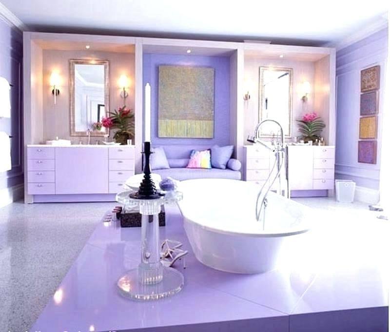 claw foot bathtub in purple for the chic modern bathroom from decor ideas decorating