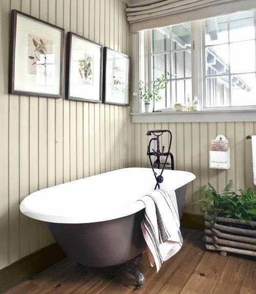 farmhouse bathroom by construction style