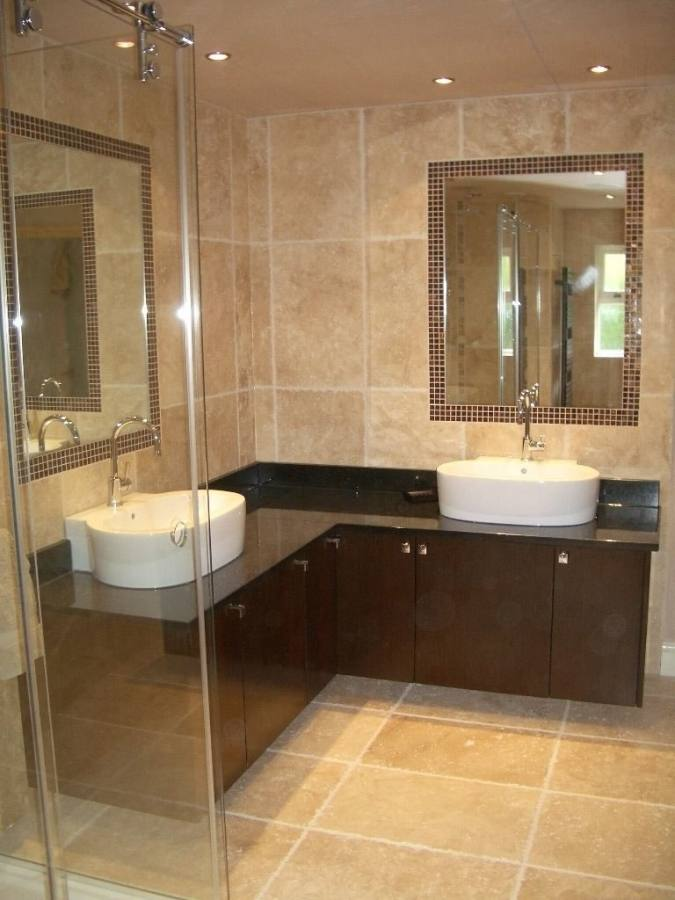 Design Ideas For Neutral Color Master Bathrooms