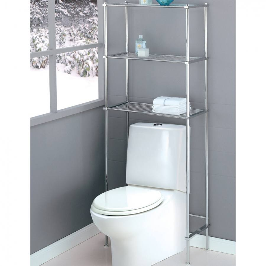over the toilet shelves bathroom