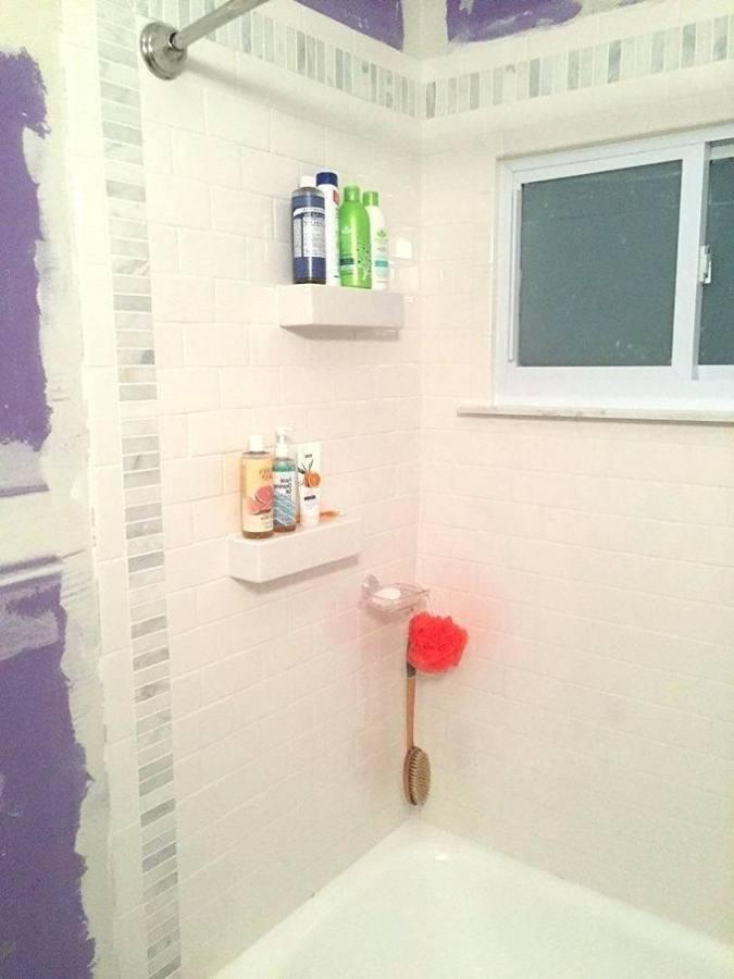 bathroom tile niche ideas