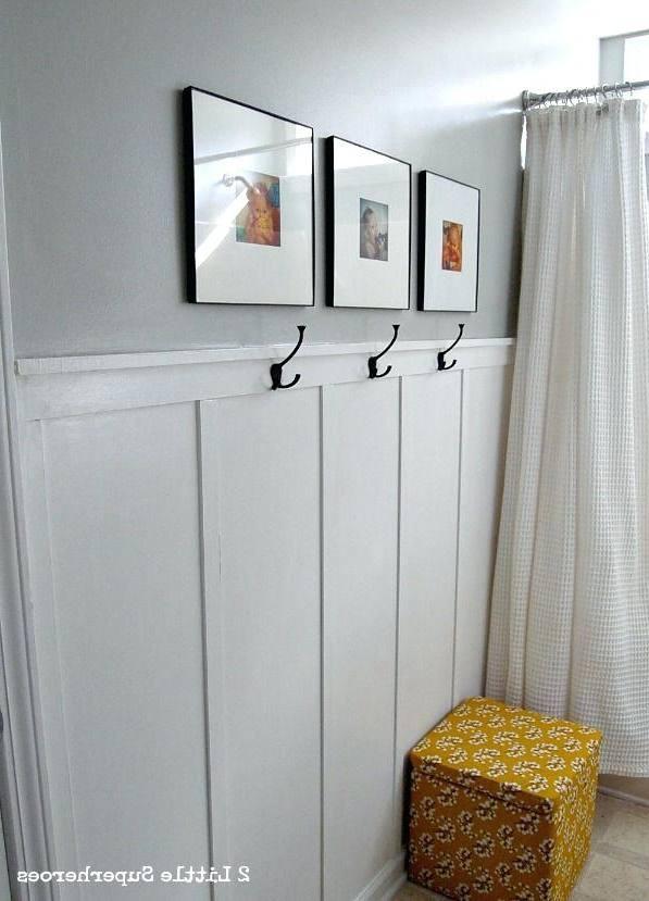 Bathroom Half Wall Tile Amazing Ideas Thedancingparent Com With Regard To 21