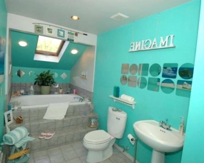 beach bathroom ideas ocean themed tiles style