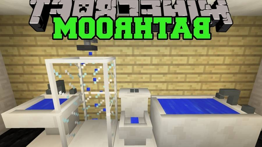 bathroom minecraft minecraft working bathroom tutorial