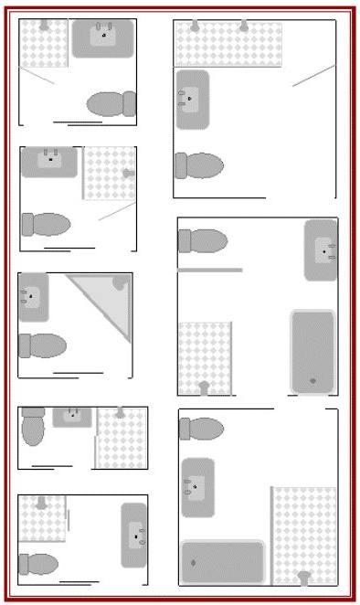 narrow bathroom design long narrow bathroom layout
