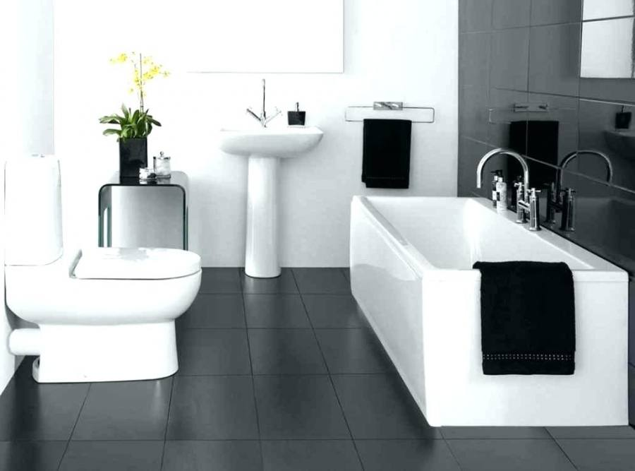 black white grey bathroom ideas
