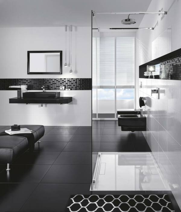 Full Size of Laying Black And White Floor Tiles Black And White Bathroom Tiles In A