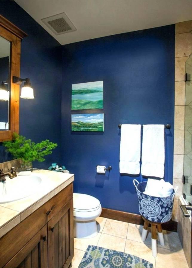 blue gray bathroom ideas