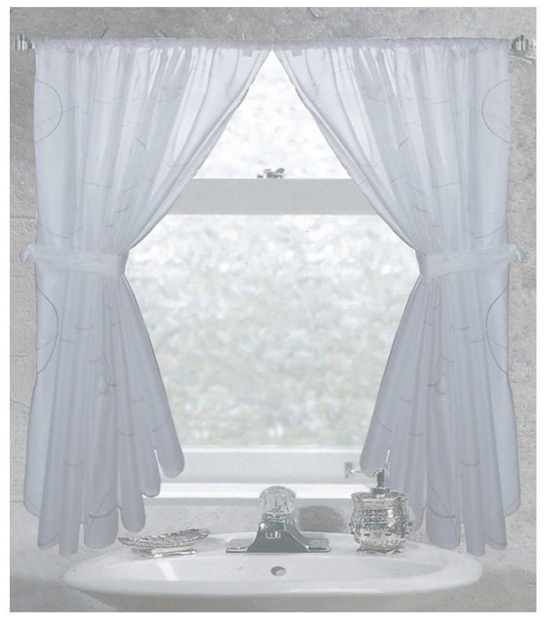 Luxury window bathroom curtains