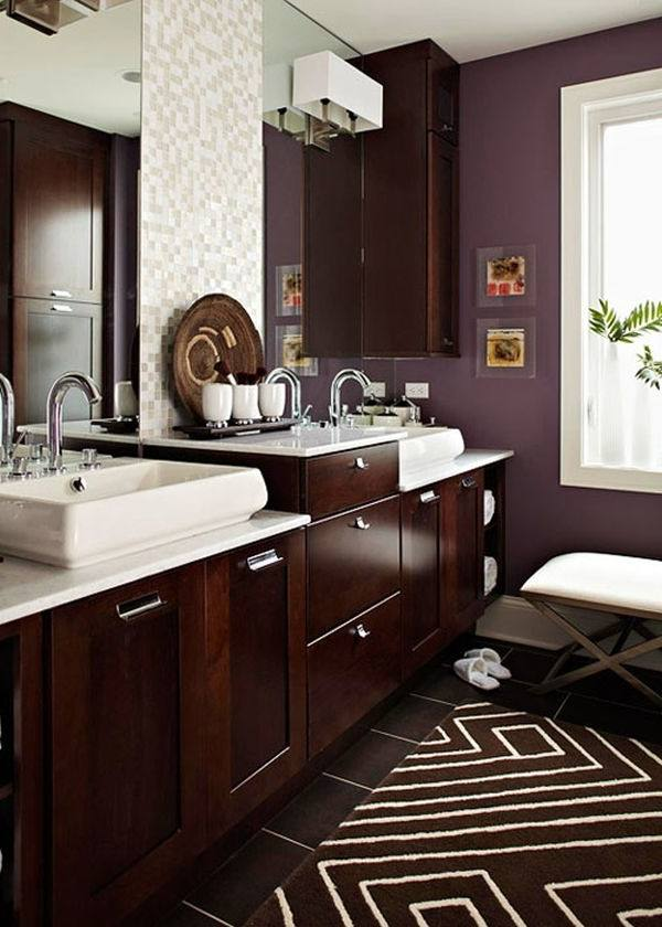 best color for small bathroom