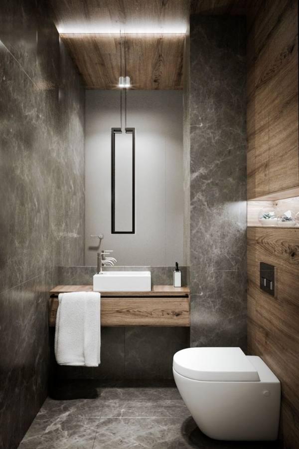 30 Amazing Basement Bathroom Ideas for Small Space Shower ideas bathroom Small bathroom decor Small bathroom storage Small master bathroom ideas Sm… | Build