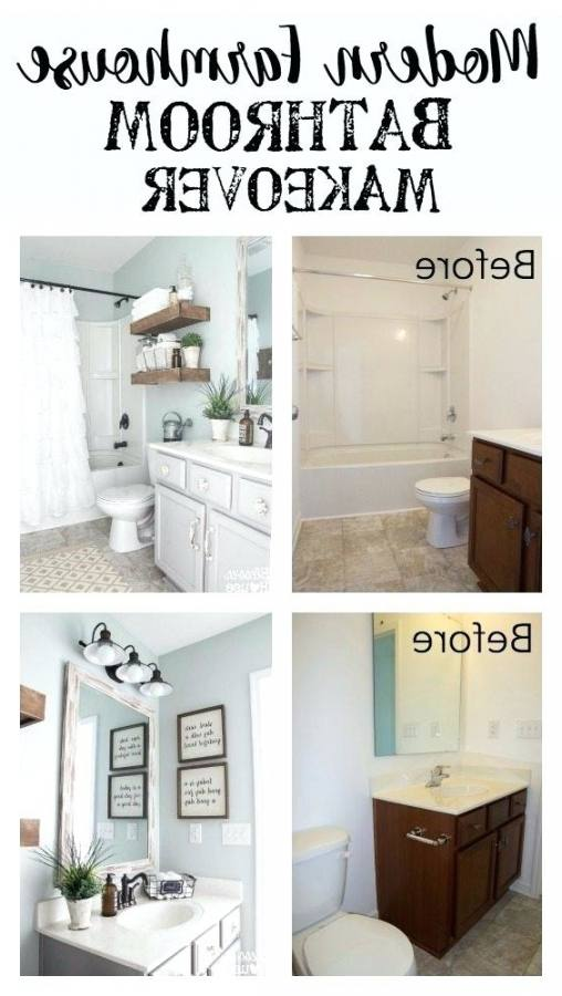 Great ideas to decorate any small bathroom!