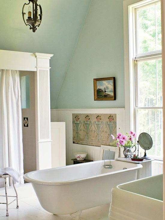 Magnificent Best 25 Cottage Bath Ideas On Pinterest Style Yellow At Bathroom Decorating