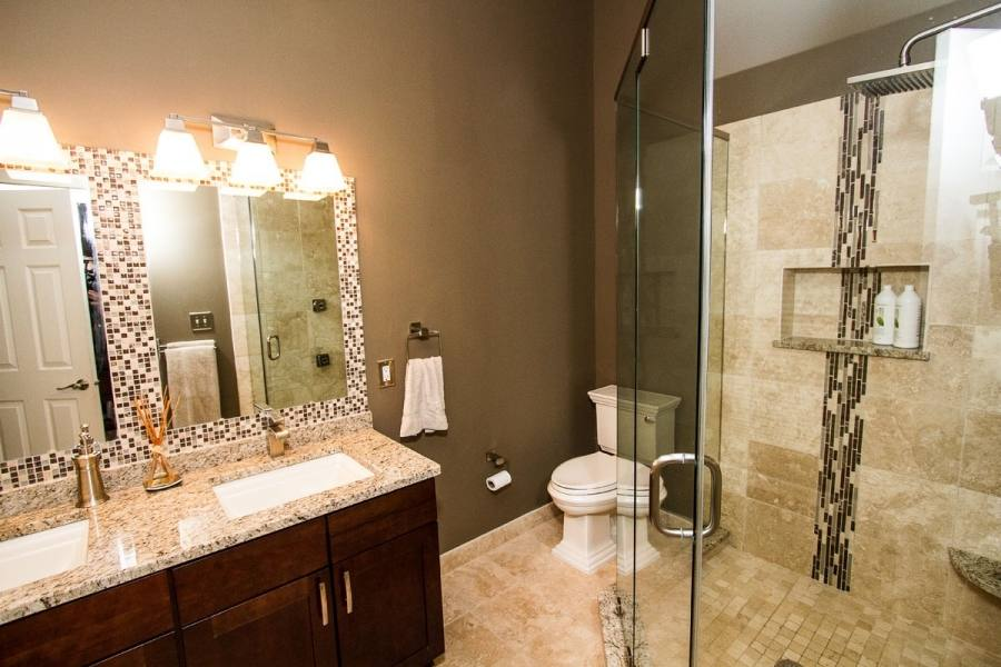 doorless shower in small bathroom medium size of amazing tile shower stalls with and recessed lighting