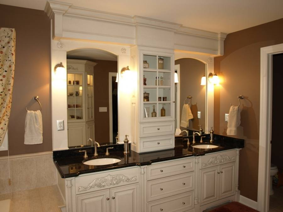 Traditional Bathroom Vanity Ideas Double Sink With An Interesting Of Countertop