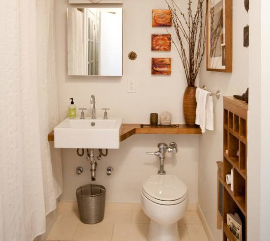 Small bathroom ideas will be good to be applied in your small bathroom