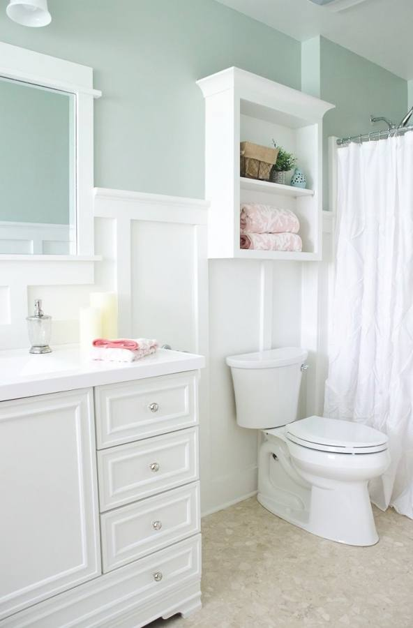 Concept Cottage Bathroom Is Cozy Beach Style