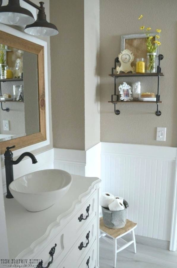 Farmhouse Bathroom Ideas Lamps