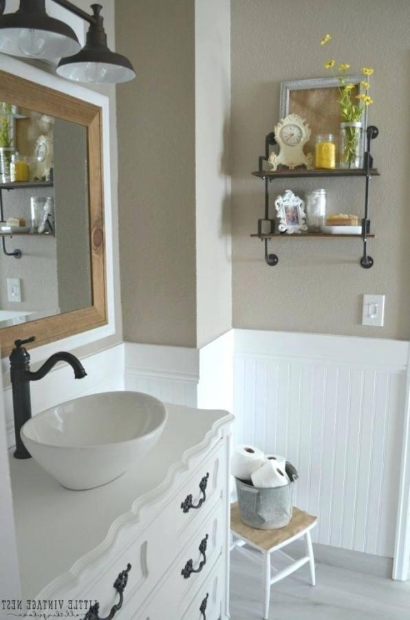 Farmhouse Bathroom Ideas Lamps