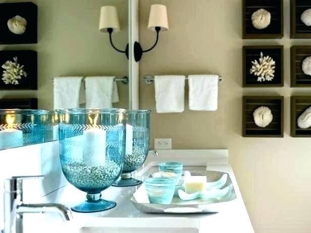 beach themed bathroom ideas under the sea ocean theme decor small mirror