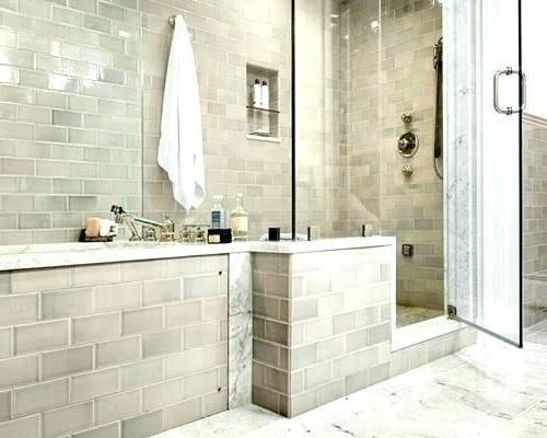 tan tile bathroom
