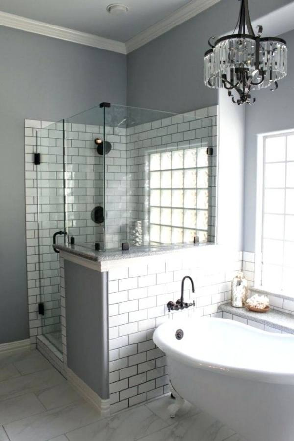 Bathroom Ideas In Grey And White