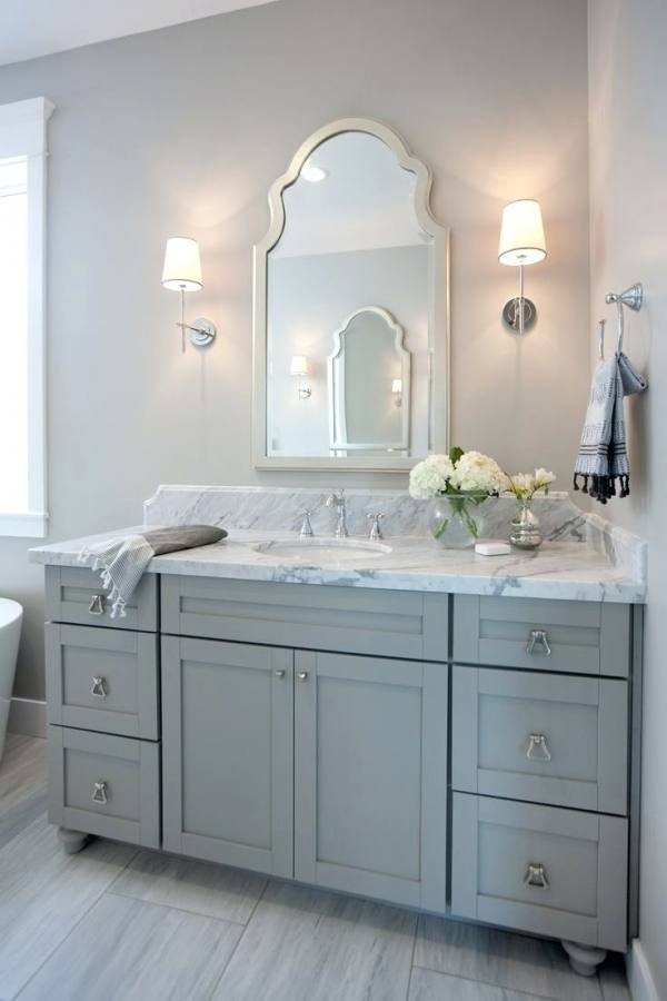 Great Bathroom Vanity Grey Bathroom Ideas Within Dark Gray Bathroom Vanity Plan