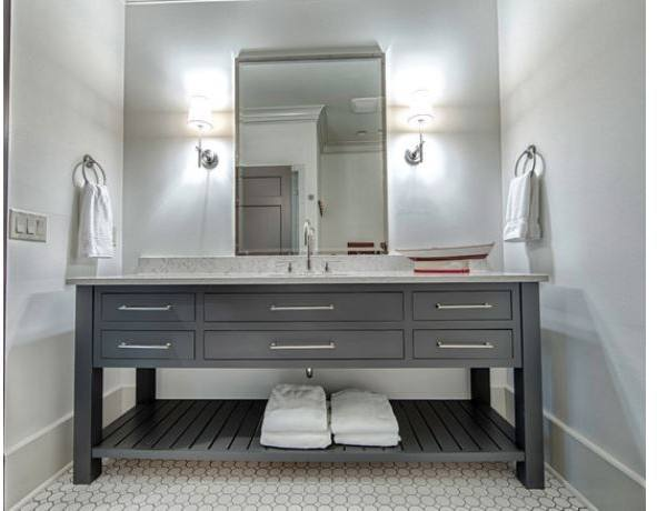 grey vanity bathroom ideas the gray look design