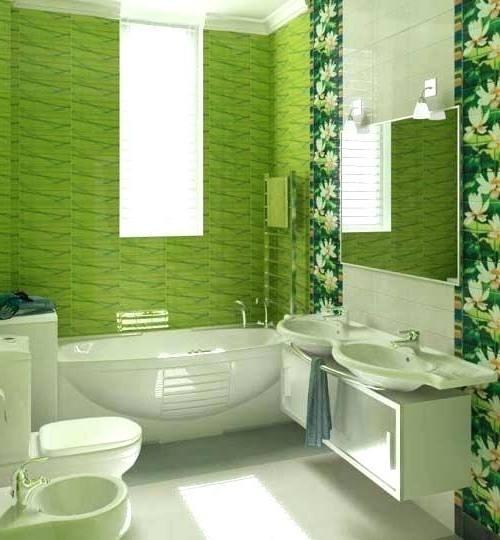 mint green bathroom decor