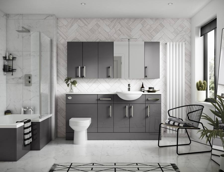 ideas to decorate a small bathroom with colour