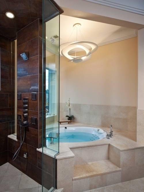 Full Size of Rug Alluring Corner Whirlpool Tub 6 Attractive 2bbathroom 2bwith 2bwhite 2bcorner 2bwhirlpool 2btub