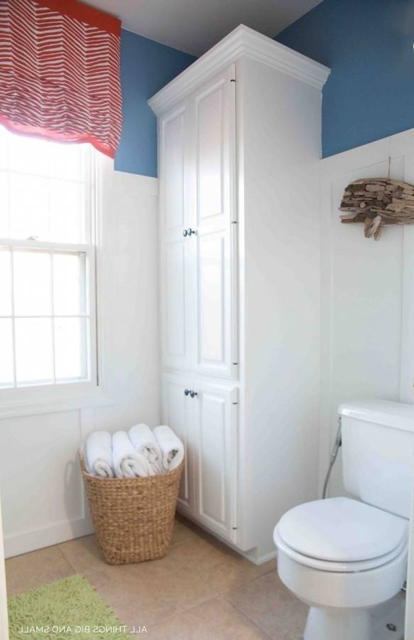 The trouble was that I had a bathroom that needed big changes, and a small budget