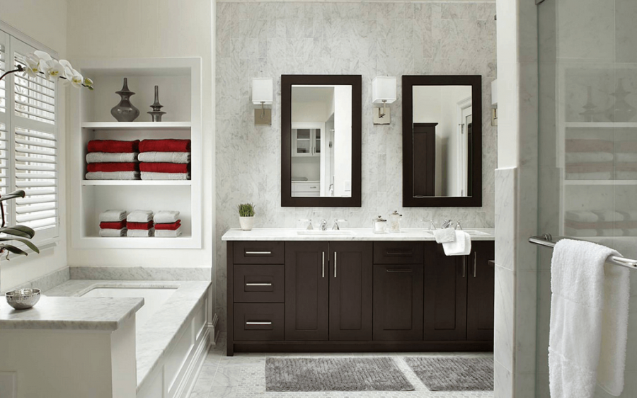 small gray bathroom image aesthetic small bathroom ideas gray vanity