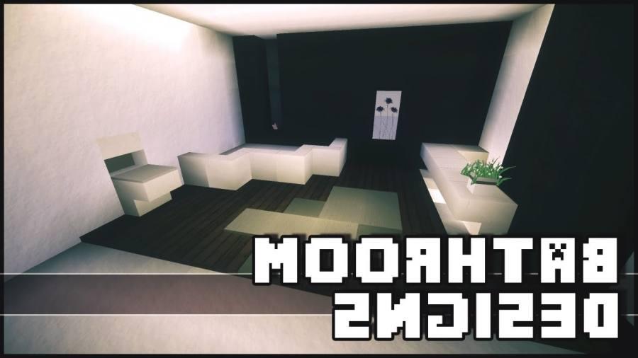 bathroom minecraft