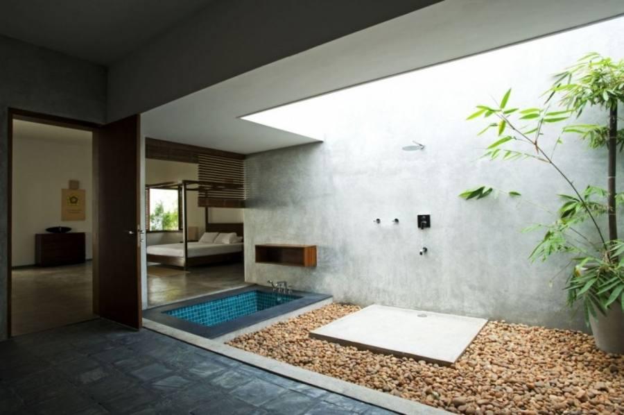 garden bathroom ideas