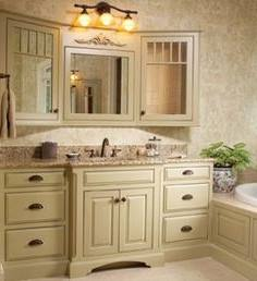 bathroom ideas with white wainscoting brown