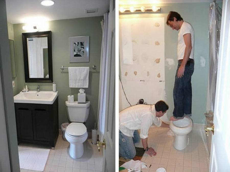 It's better to find bathroom renovators Adelaide experts that are certified water proofers