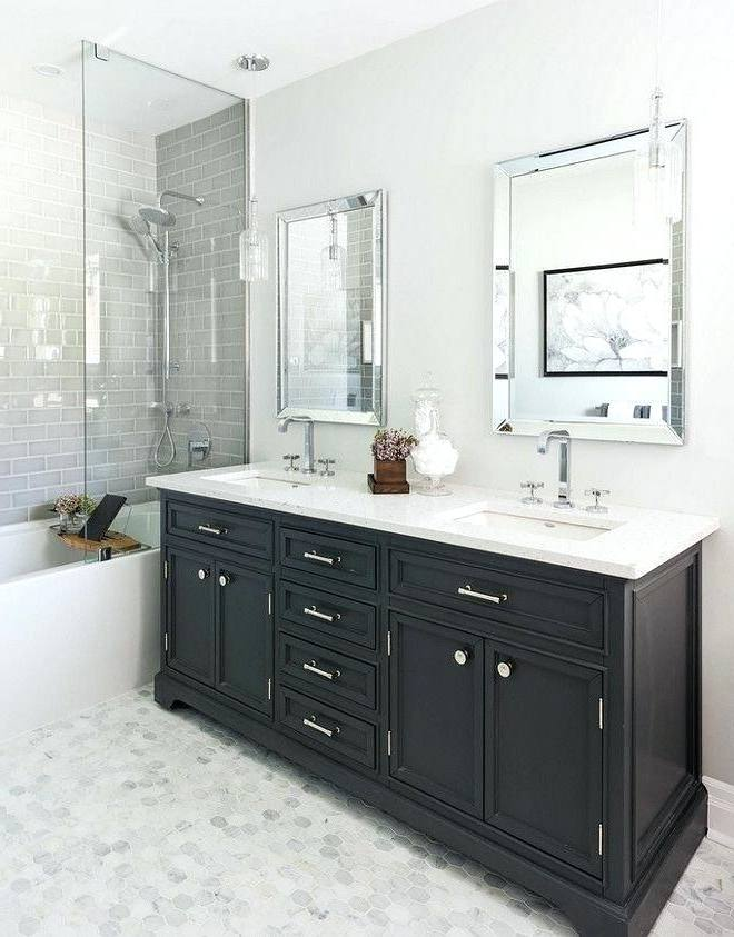 Bathrooms Design Subway Tile Small Bathroom Exquisite Vanity