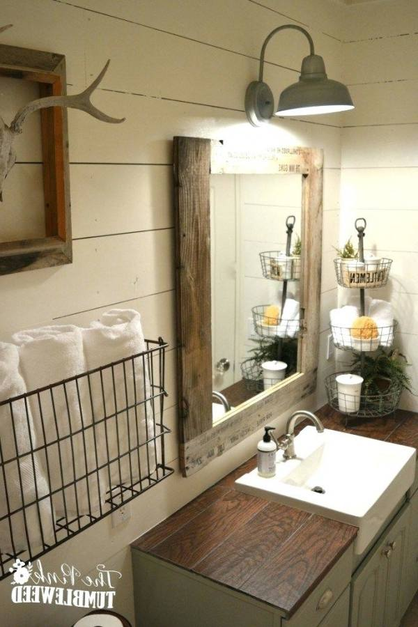 bathroom signs decor farmhouse