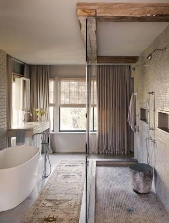 Use our rustic bathroom decor