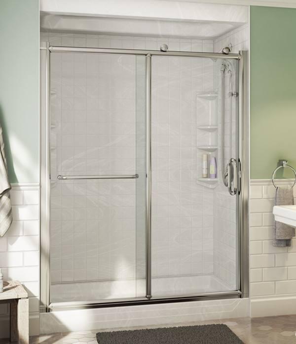 bathroom enclosure ideas charming tile bath surround - #bathroomdesign #BathroomDecor