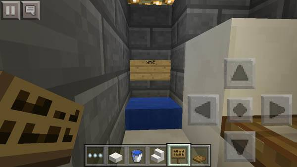 bathroom minecraft